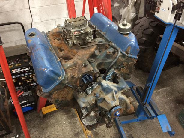 1968 Code Ford 390 Fe 2v Engine For Rebuild West Shore