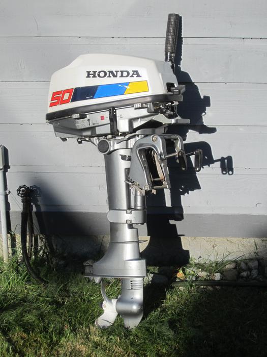 5 hp 4 stroke honda outboard motor saanich victoria for Honda 4 stroke outboard motors
