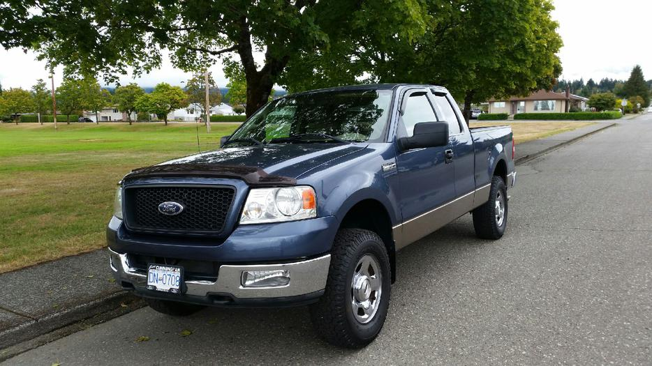 2004 ford f150 xlt 4x4 v8 outside comox valley courtenay. Black Bedroom Furniture Sets. Home Design Ideas