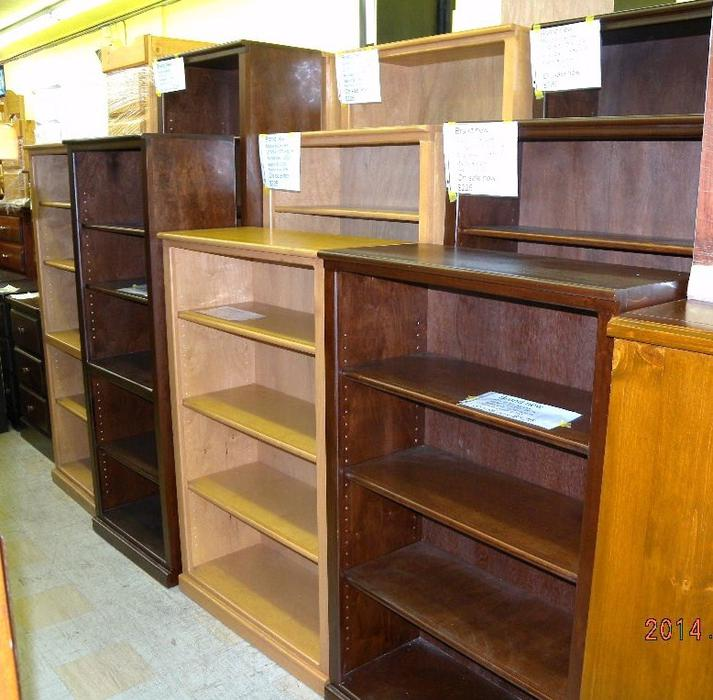 Brand new maple bookcases on sale now loi 39 s furniture for Q furniture abbotsford