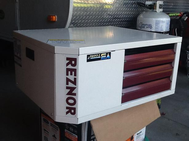 Reznor unit heater outside ottawa gatineau area ottawa for How much to install a garage heater