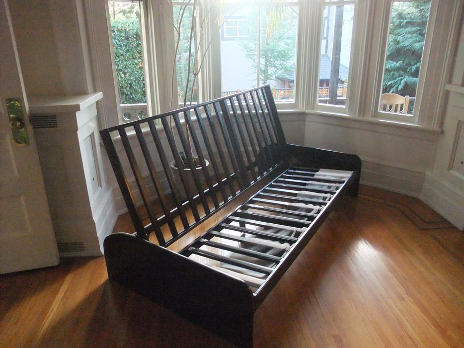 Click clack futon frame sofa bed victoria city victoria for Sofa bed victoria bc