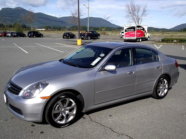 2005 infiniti g35x awd outside victoria victoria. Black Bedroom Furniture Sets. Home Design Ideas