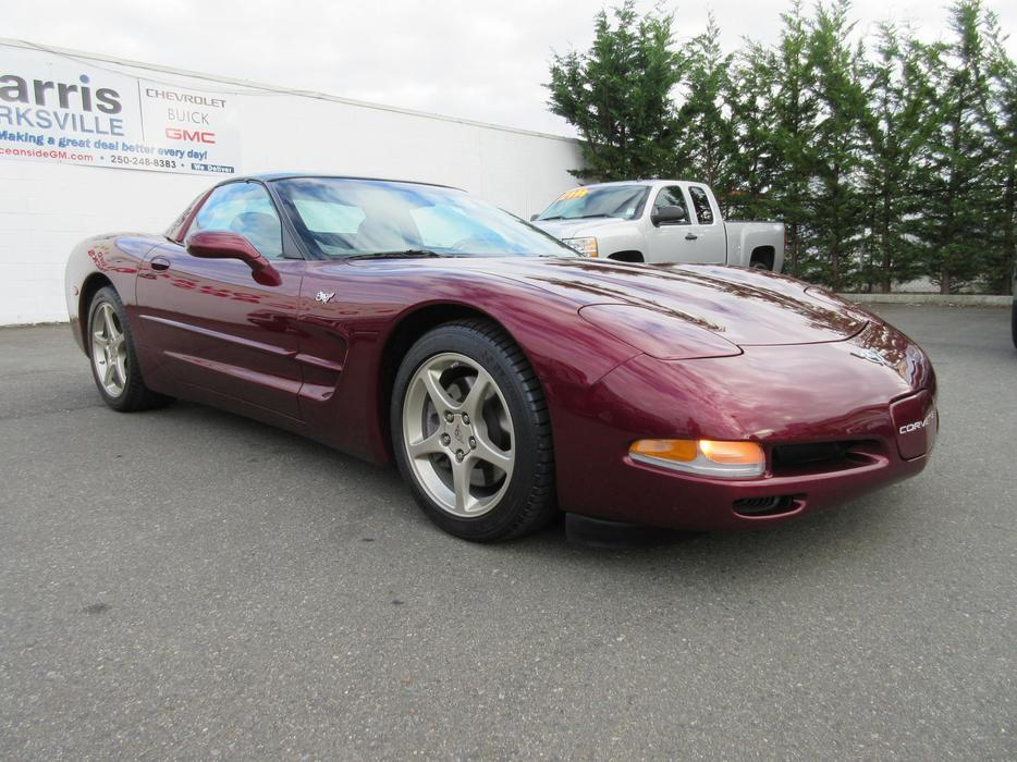 red 2003 chevrolet corvette 50th anniversary parksville nanaimo mobile. Black Bedroom Furniture Sets. Home Design Ideas