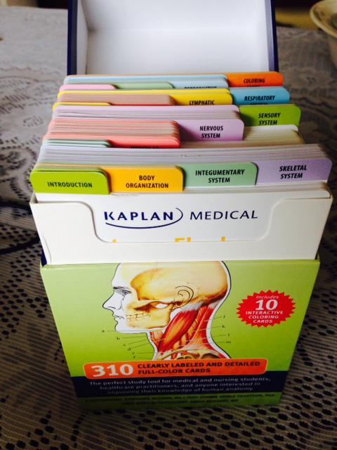 Kaplan Medical Anatomy Flash Cards