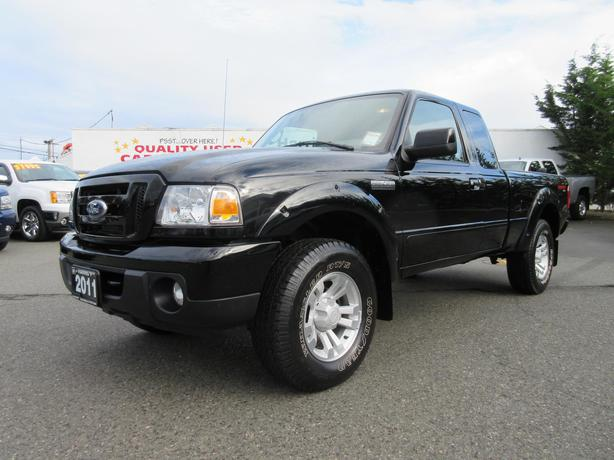 used 2011 ford ranger xlt sport 4x4 in parksville outside victoria victoria. Black Bedroom Furniture Sets. Home Design Ideas