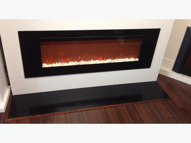 60 Inch Build In Electric Fireplace West Shore Langford Colwood Metchosin Highlands Victoria