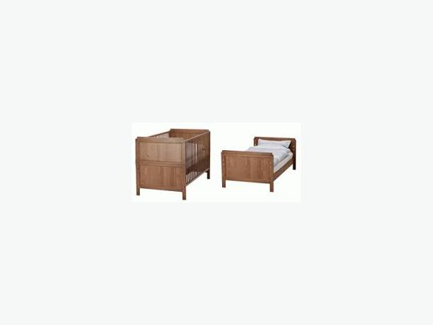 Ikea Küchen Ohne Elektrogeräte ~   Log In needed $125 · IKEA LEKSVIK Crib Toddler Bed w mattress & cover