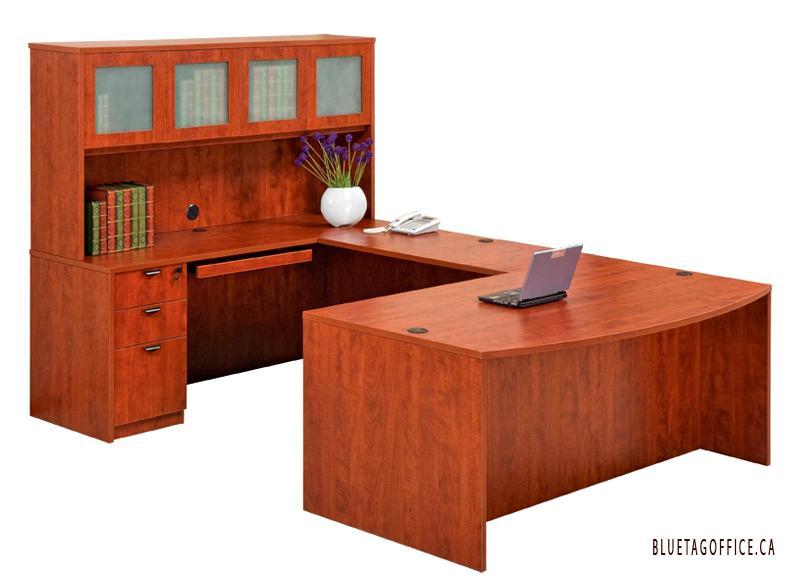 U Shaped Office Desk With Hutch Nelson Kootenays