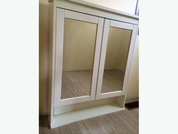 Ikea Hemnes Bathroom Vanity Cabinet Outside Victoria Victoria