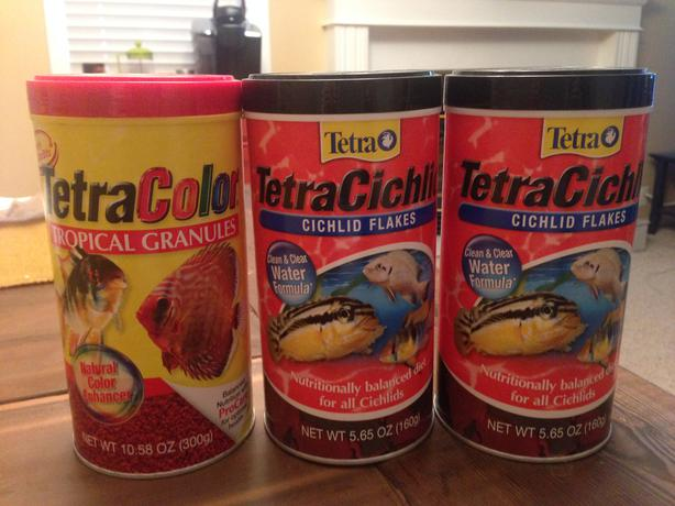 Tetra fish food for sale outside victoria victoria for Fish meal for sale