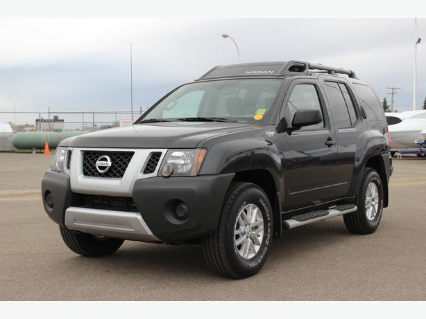 2014 nissan xterra s w 4x4 quality like new 2014 model suv on sale outside south saskatchewan. Black Bedroom Furniture Sets. Home Design Ideas