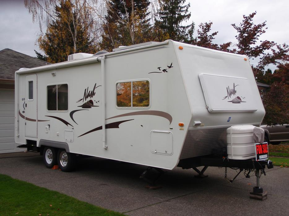 25 Foot Travel Trailer Comox Campbell River Mobile