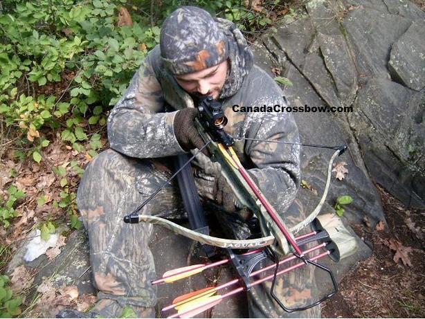 Hunting crosbow