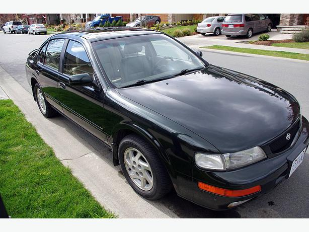 Kingston Nissan Used Cars 1996 Nissan Maxima West Shore: Langford,Colwood,Metchosin ...