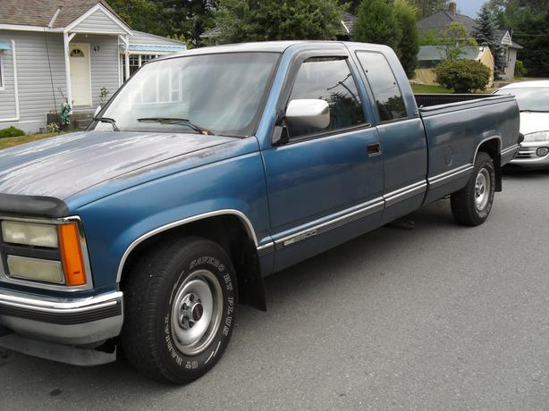 92 gmc ex cab long box outside nanaimo nanaimo. Black Bedroom Furniture Sets. Home Design Ideas