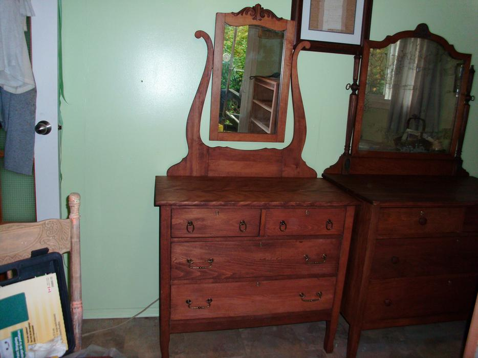 Antique Dresser With Attached Mirror West Shore Langford