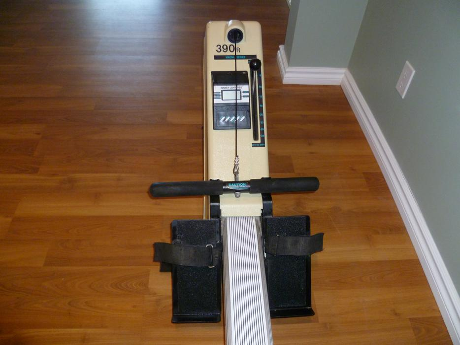 erg rowing machine used
