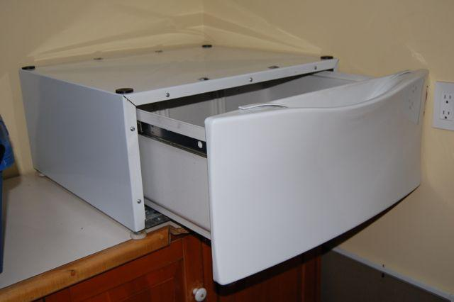 Kenmore He2 Front Load Washer And Pedestal Drawer West
