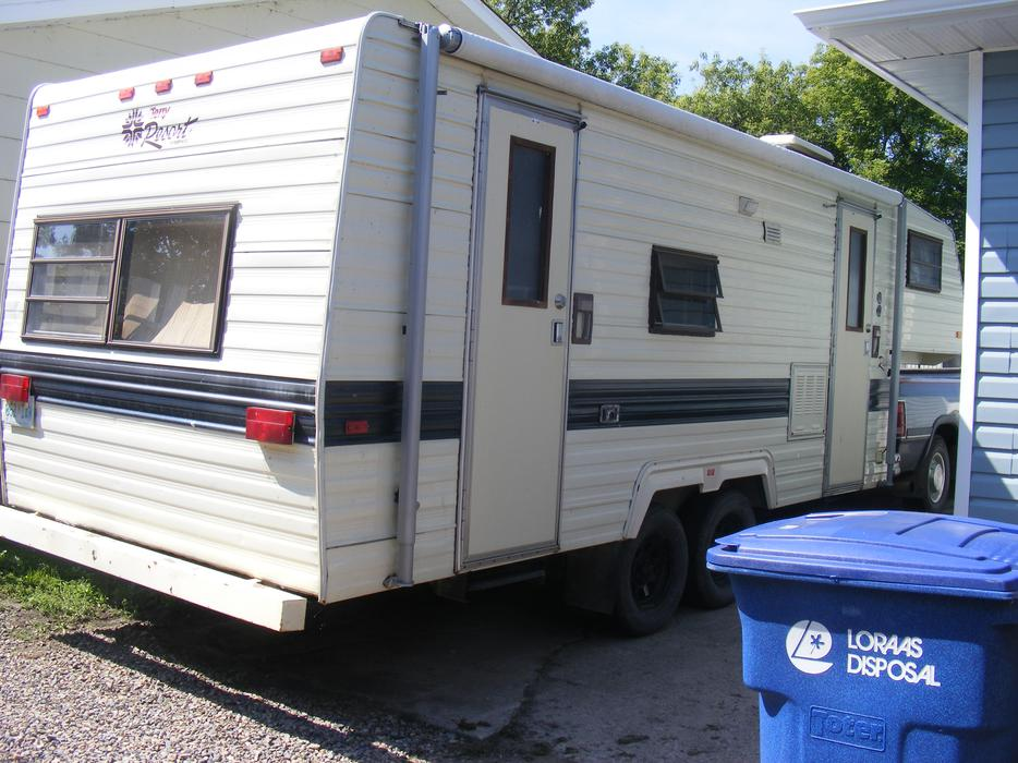 Used Tires Winnipeg >> 1987 Terry Resort 26ft 5th wheel Camper Trailer Rural Regina, Regina