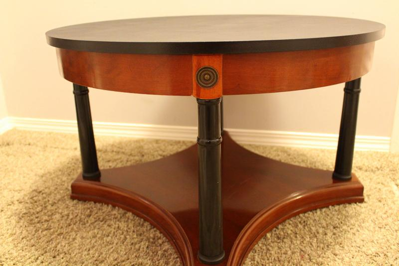 Coffee table and half moon table central regina regina for Coffee tables regina