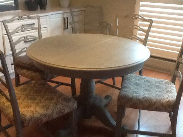Chalk Paint Dining Room Set: Dining Room Set,,painted With Annie Sloan Chalk Paint