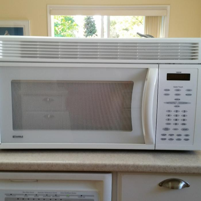 Microwave over the range saanich victoria - Red over the range microwave ...