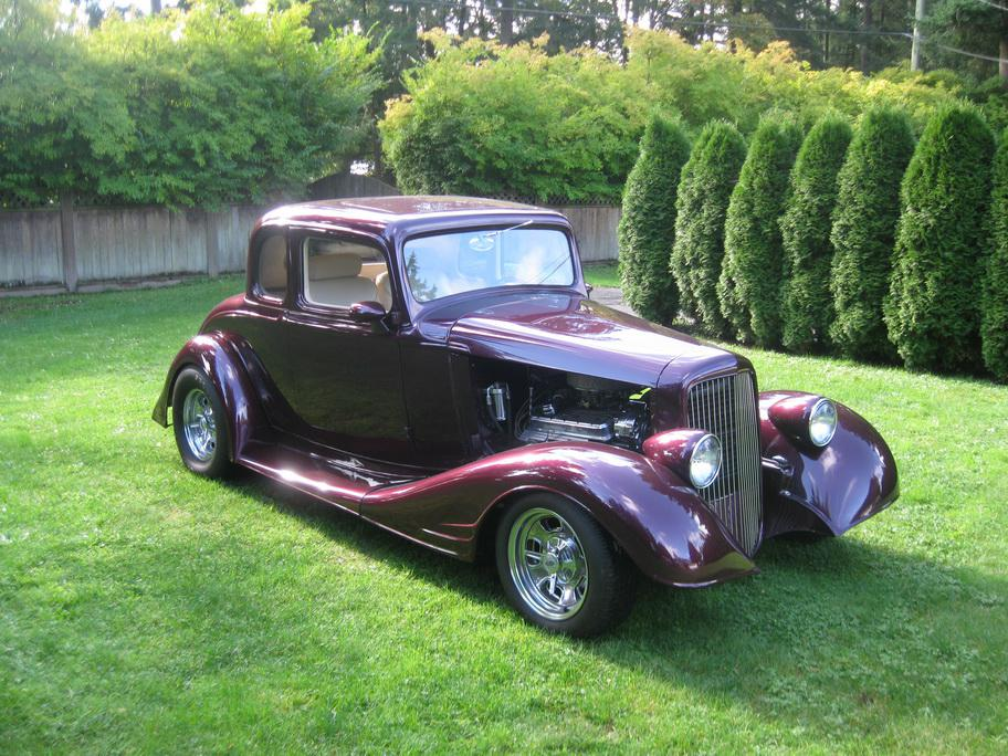 Rare 1933 pontiac 5 window coupe 39 steel 39 langley langley for 1930 pontiac 3 window coupe