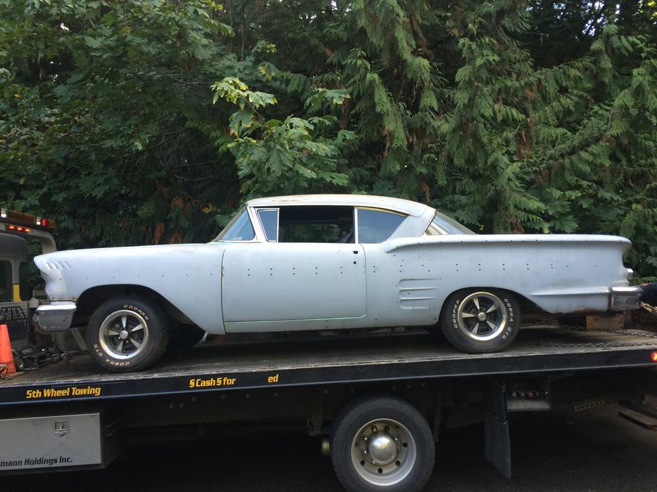 Barn Find 1958 Chevrolet Impala 2 Door Sport Coupe Make