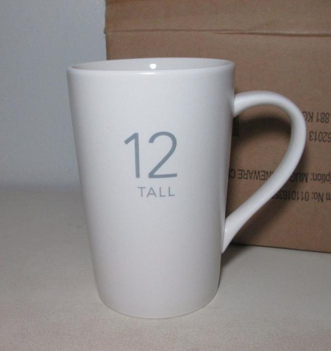 "Starbucks Coffee/Latte Mug Tall ""12"" Victoria City, Victoria"