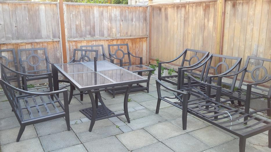 Huge Patio Furniture Set Victoria City Victoria Mobile