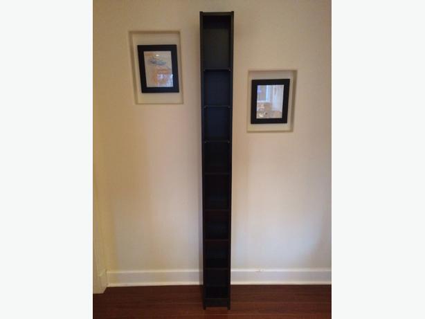 4 black ikea benno cd dvd shelves west shore langford for Meuble cd dvd ikea