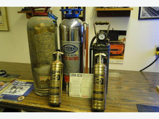 Man Cave Store In Mississauga : Antique fire extinguishers courtenay comox valley