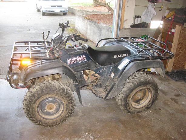 2002 suzuki king quad 300 4x4 esquimalt & view royal, victoria
