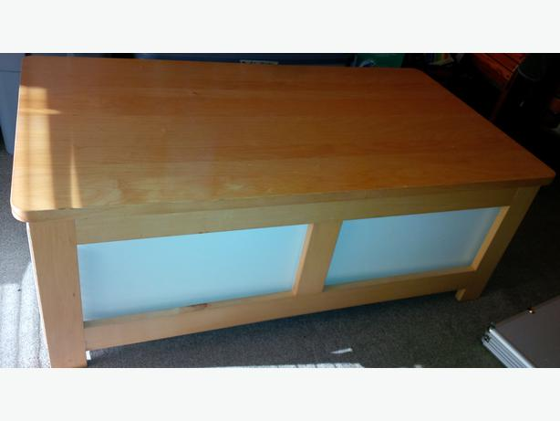Ikea Coffee Table Two Storage Drawers On Wheels Saanich Victoria