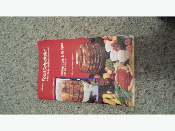 ronco food dehydrator instructions