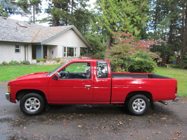 1997 nissan hardbody d21 xe kingcab north saanich. Black Bedroom Furniture Sets. Home Design Ideas