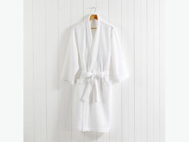 Aztec Brand Waffled Bathrobe - Bridesmaid