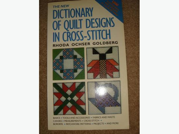 Dictionary of Quilt Designs in Cross stitch