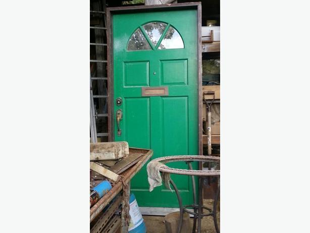 how to make an exterior door frame smaller