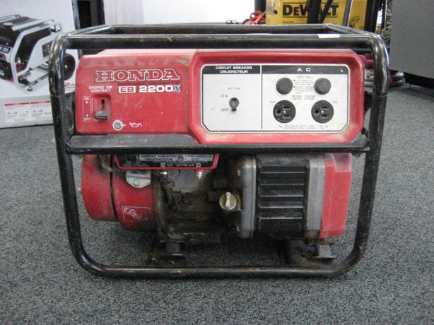 Honda Eb 2200x Generator Central Regina Regina