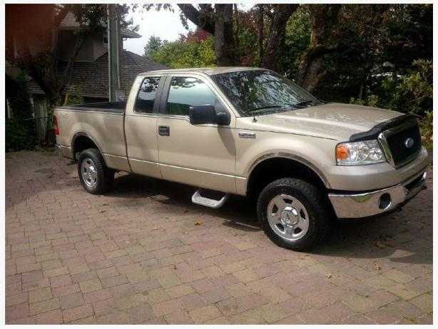 2007 ford f 150 xlt 4x4 truck for sale outside victoria victoria. Black Bedroom Furniture Sets. Home Design Ideas