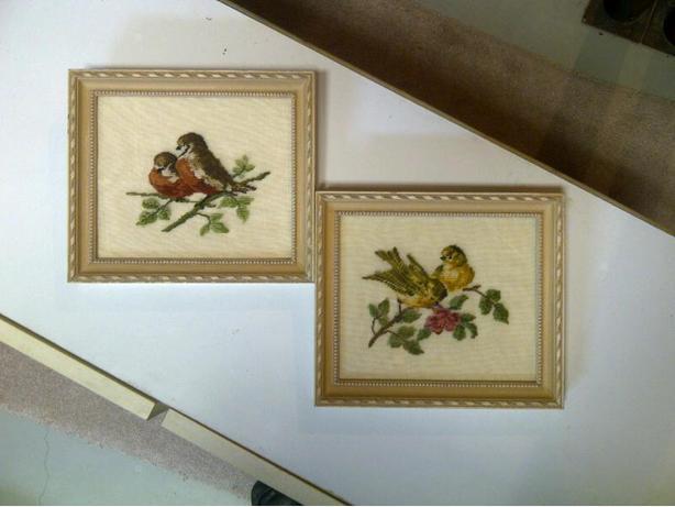 Petitpoint Birds