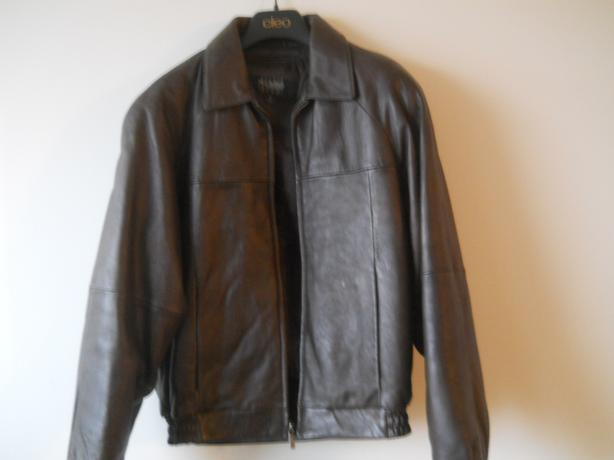 Mens Wilson Leather Jacket S