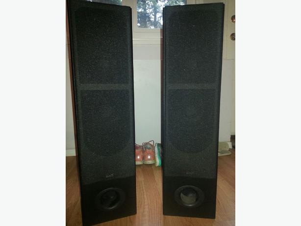 Klh t1b 3 way floor standing speakers saanich victoria for 12 inch floor standing speakers