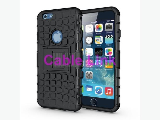 "New Rugged Heavy Duty Hybrid Case For Apple iPhone 6 4.7""+Free"