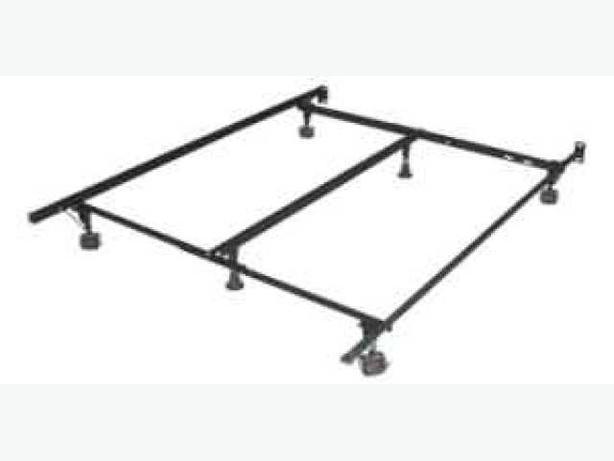 Steel Bed Frames Queen Metal Bed Frames Queen Size Extra: Queen Size Metal Bed Frame Oak Bay, Victoria