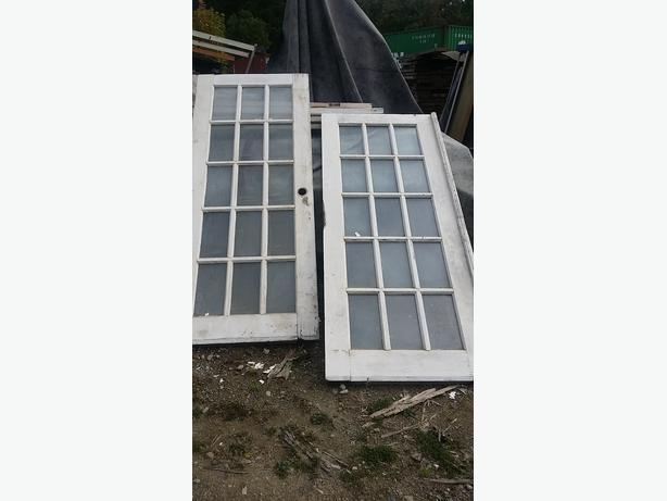 Exterior french doors no frame some panels leaking malahat for 5 foot exterior french doors