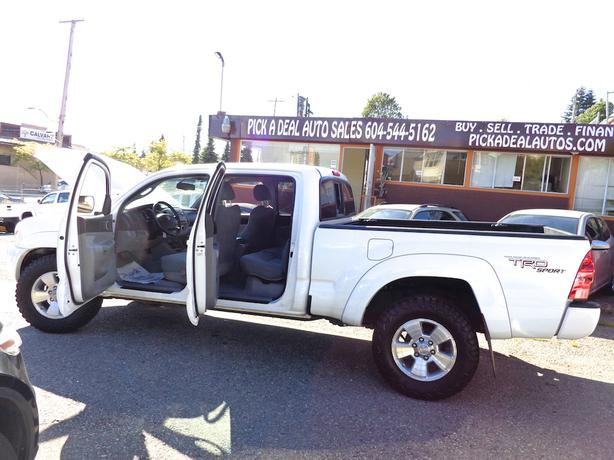2008 toyota tacoma trd sport crew cab 4x4 long box burnaby incl new westminster vancouver. Black Bedroom Furniture Sets. Home Design Ideas