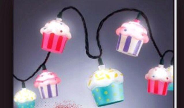 Cupcake string lights West Shore: Langford,Colwood,Metchosin,Highlands, Victoria